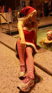 La Mère Noel vous souhaite de bonnes fetes de fin d`Année