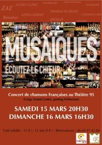 concert du 15 et 16 mars 2014